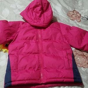 Girl's puffer coat